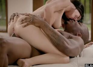 First interracial creampie
