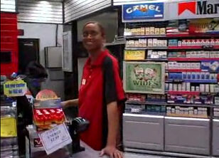 Blowjob in a club