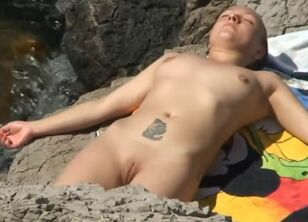 Nudist naturist young
